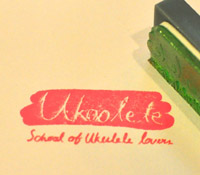 The official Ukoolele stamp of approval!