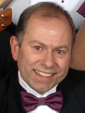 Langley Ukulele Ensemble director Peter Luongo.