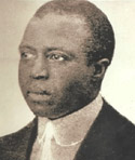Scott Joplin (1867? - 1917).  More .