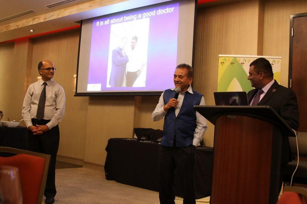 Dr. Saibal Kar Enthralls In Interesting Presentation