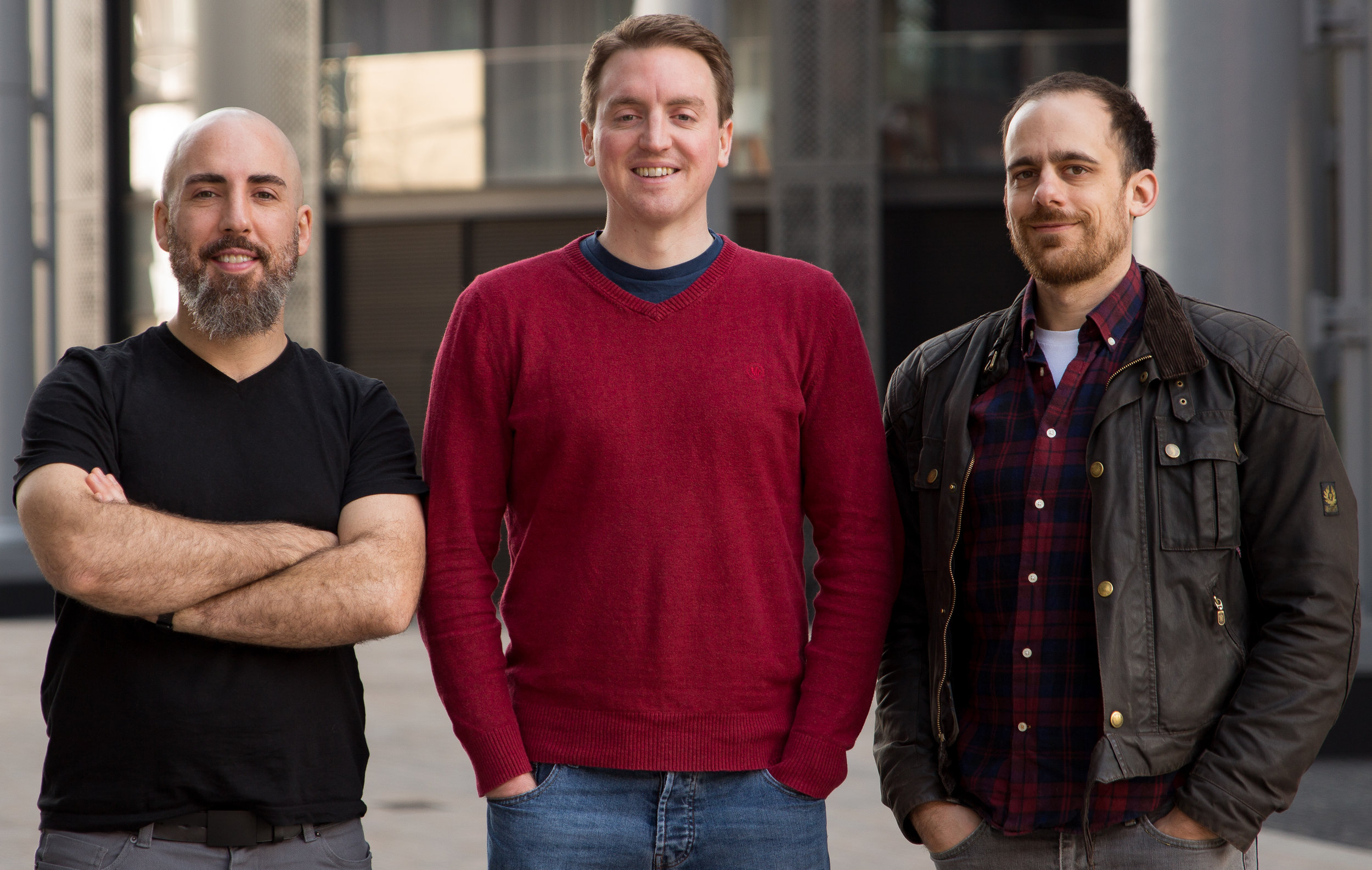 Matt, Dave and Josh form the core of Nomographic's service offering. -