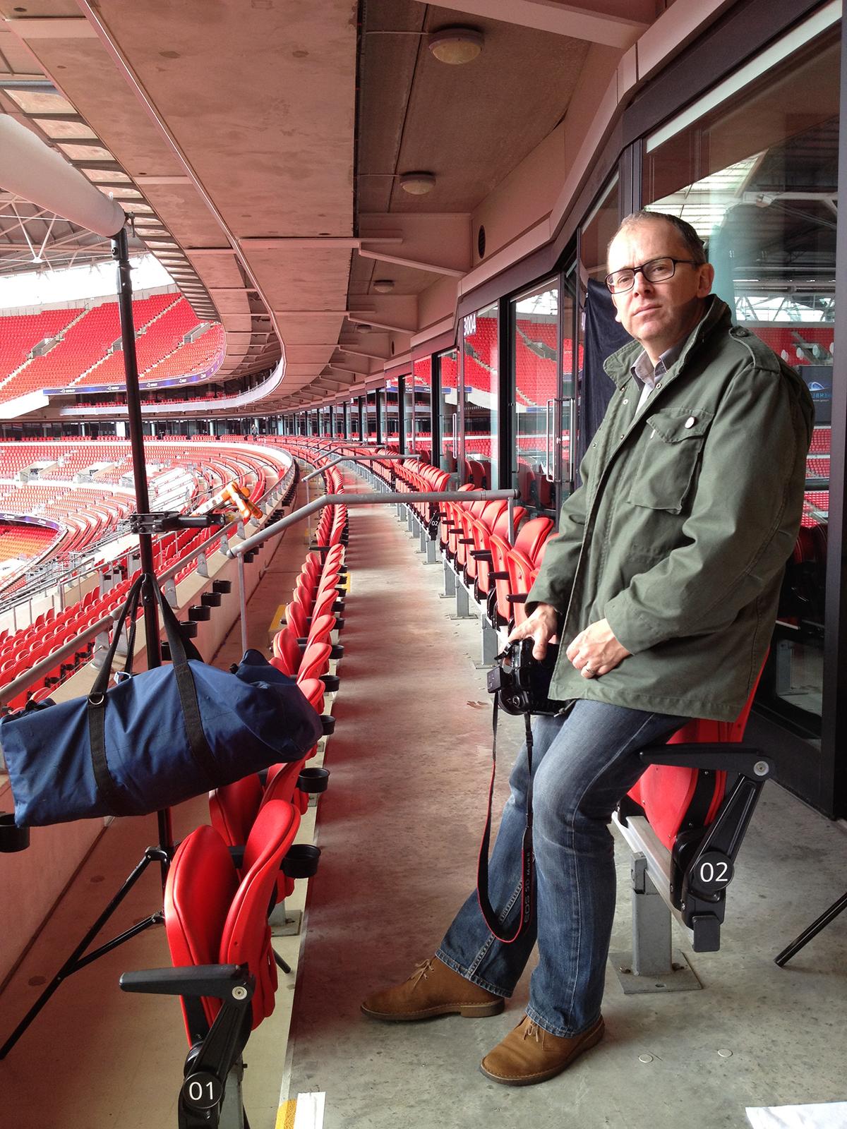 15/05/12 -Waiting at Wembley again. -
