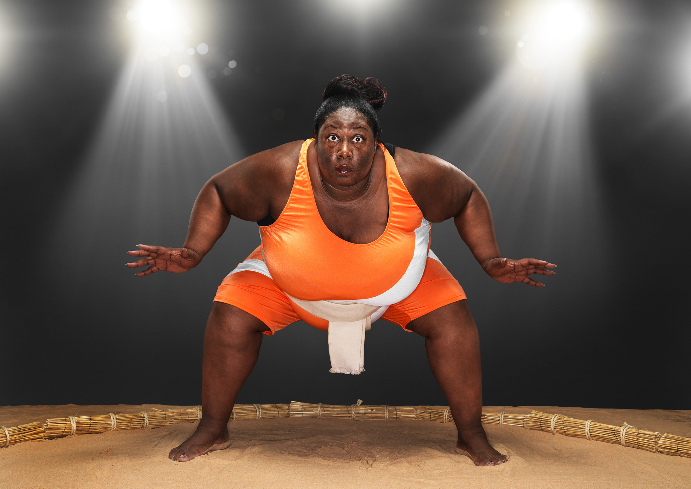 RanaldMackechnie.GWR.Sharran Alexander. Heaviest sportswoman.jpg
