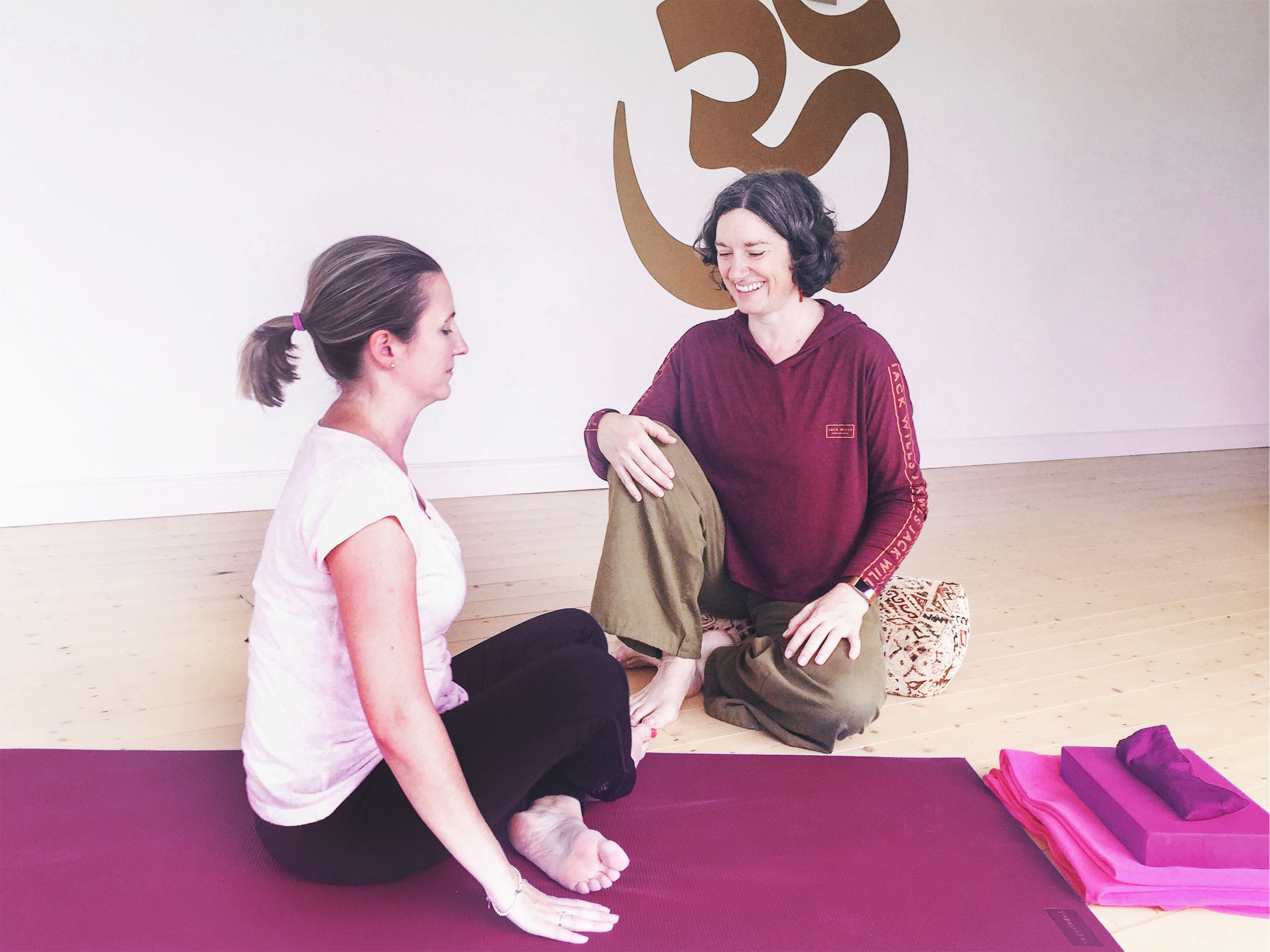 One to One & Yoga Therapy Classes in Aruna Yoga Rathcoffey Maynooth