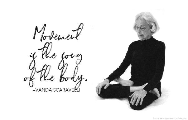 Aruna Yoga Studio - Movement is Life: The Story of Vanda Scaravelli