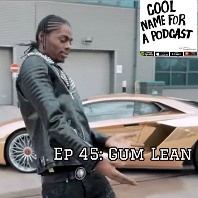 Episode 45: Gum Lean  Topics this week: - Dave's Album - Knife Crime Vigilante - Troll farms - Russian bots on Twitter - Can AI replace the working population - Idris Elba's crisis - Wanga  Leave a comment on the podcast, leave us a rating and a review!  Follow: www.twitter.com/coolnameforapod  Instagram: www.instagram.com/coolnameforapodcast  Enjoy  Tweet us with the hashtag #CNFAP