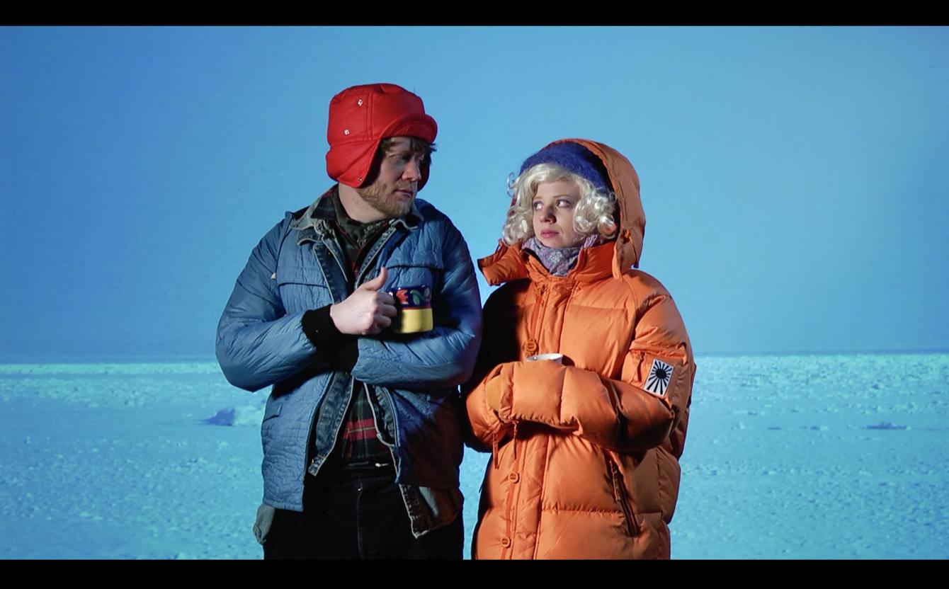 Still photo from film by Benjamin Mosli