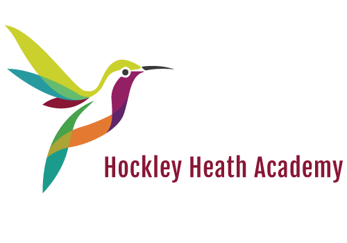 Hockley Heath Academy logo | school branding | UK School brand agency