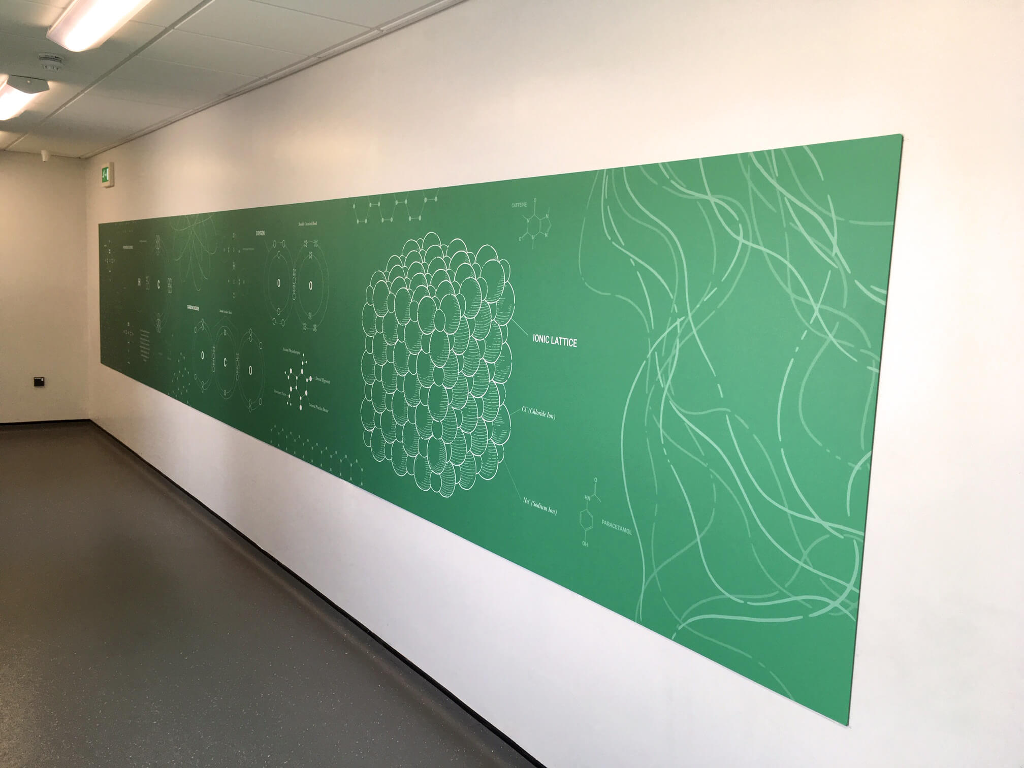 Creative wall graphics for school | School wall murals | Birmingham, Coventry, Midlands, UK