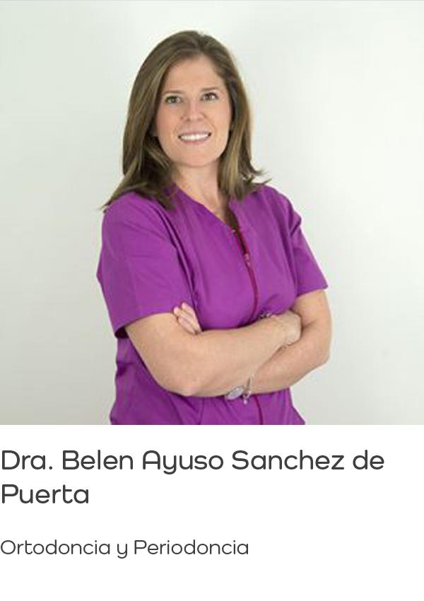 Dra. Belén Ayuso Sanchez de Puerta