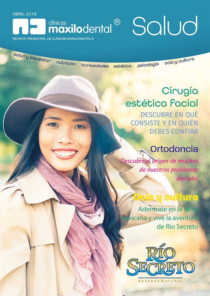 Primer ejemplar de la revista Maxilodental® Salud - Ya disponible en las salas de espera de todos nuestros centros.