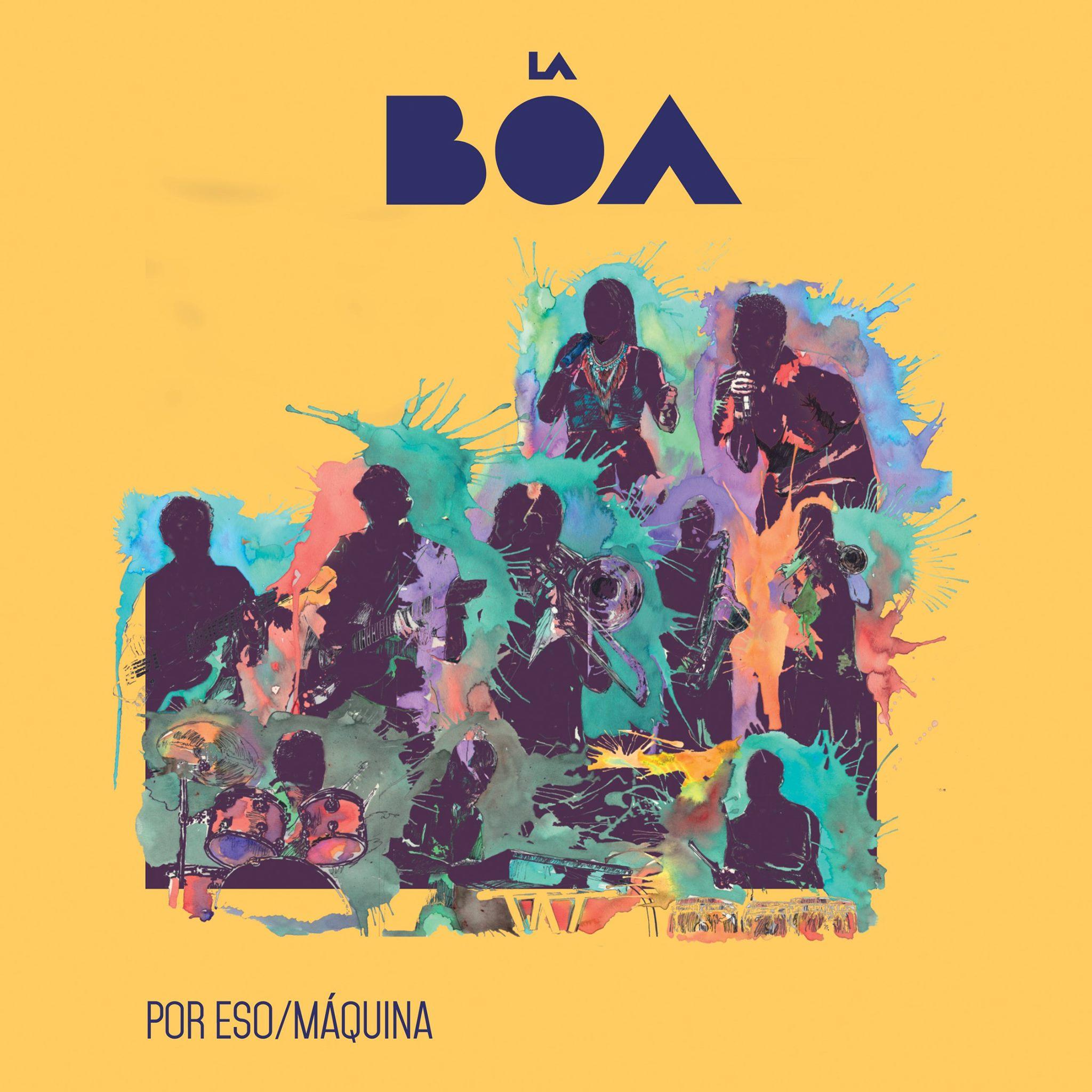 Por Eso / Máquina EP     La BOA