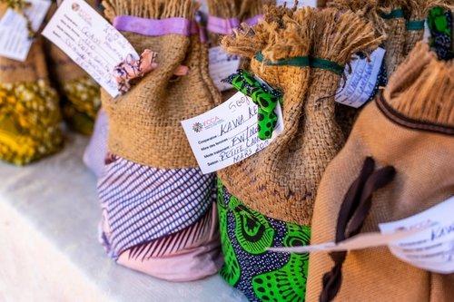 Des cafés à la marque IFCCA exposés au salon du café et de la culture de Saveur du Kivu 2018