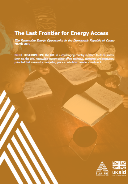Read ELAN's report on business opportunities in DRC's untapped renewable energy market.