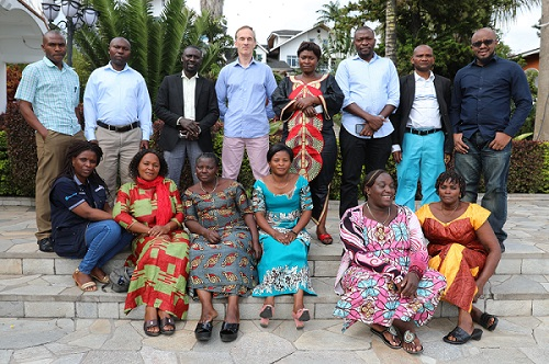 ACT workshop participants in Goma.