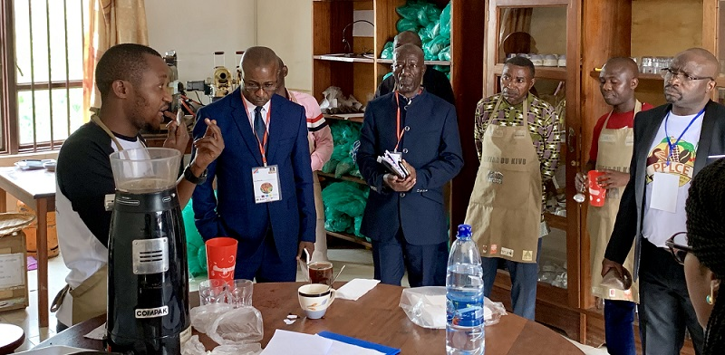 ONAPAC and Investors Briefed on Roasting and Cupping Process