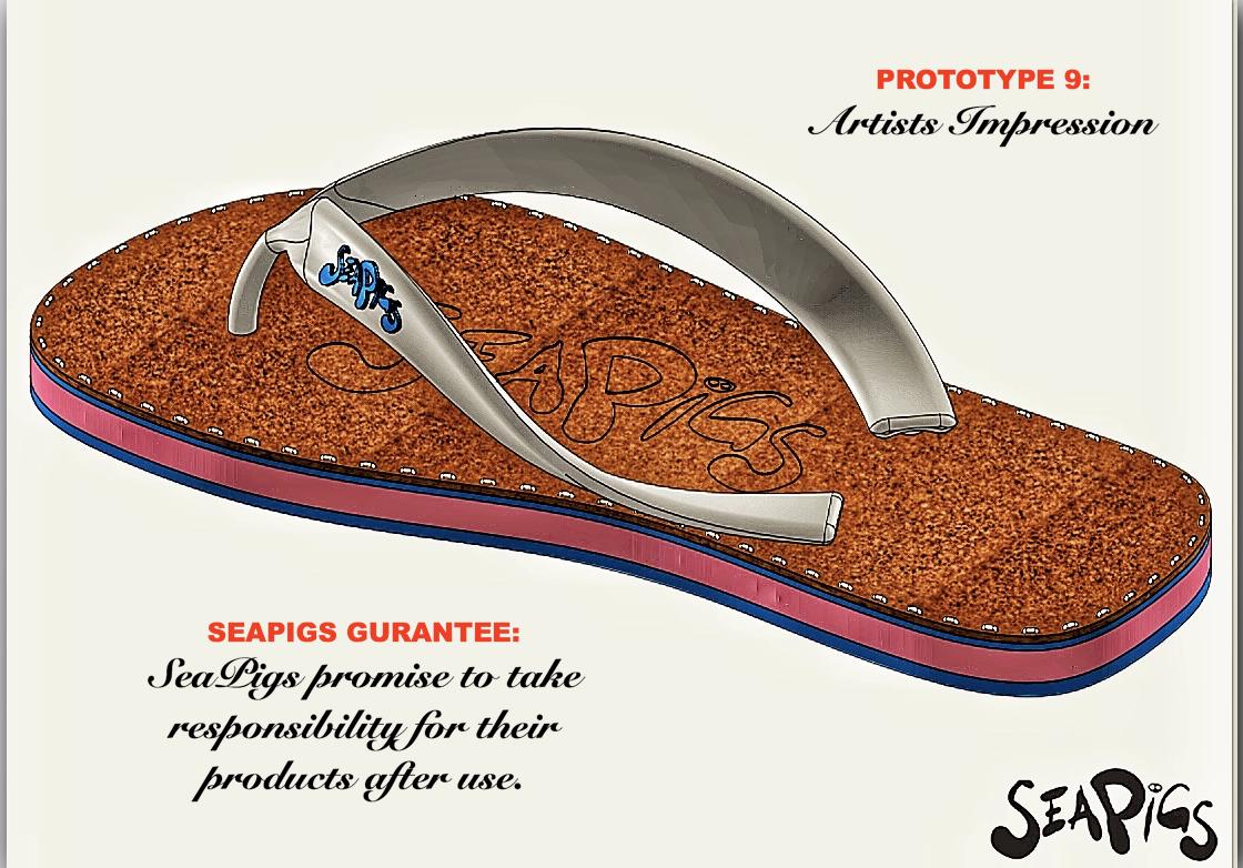 Beach Footwear - Prototype 9