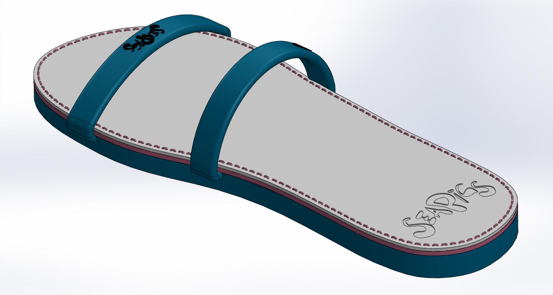 seapigs Sea pigs drifters - flip flops