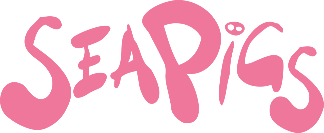 Pink SeaPigs Logo - Look Good - Feel Good - Be Good