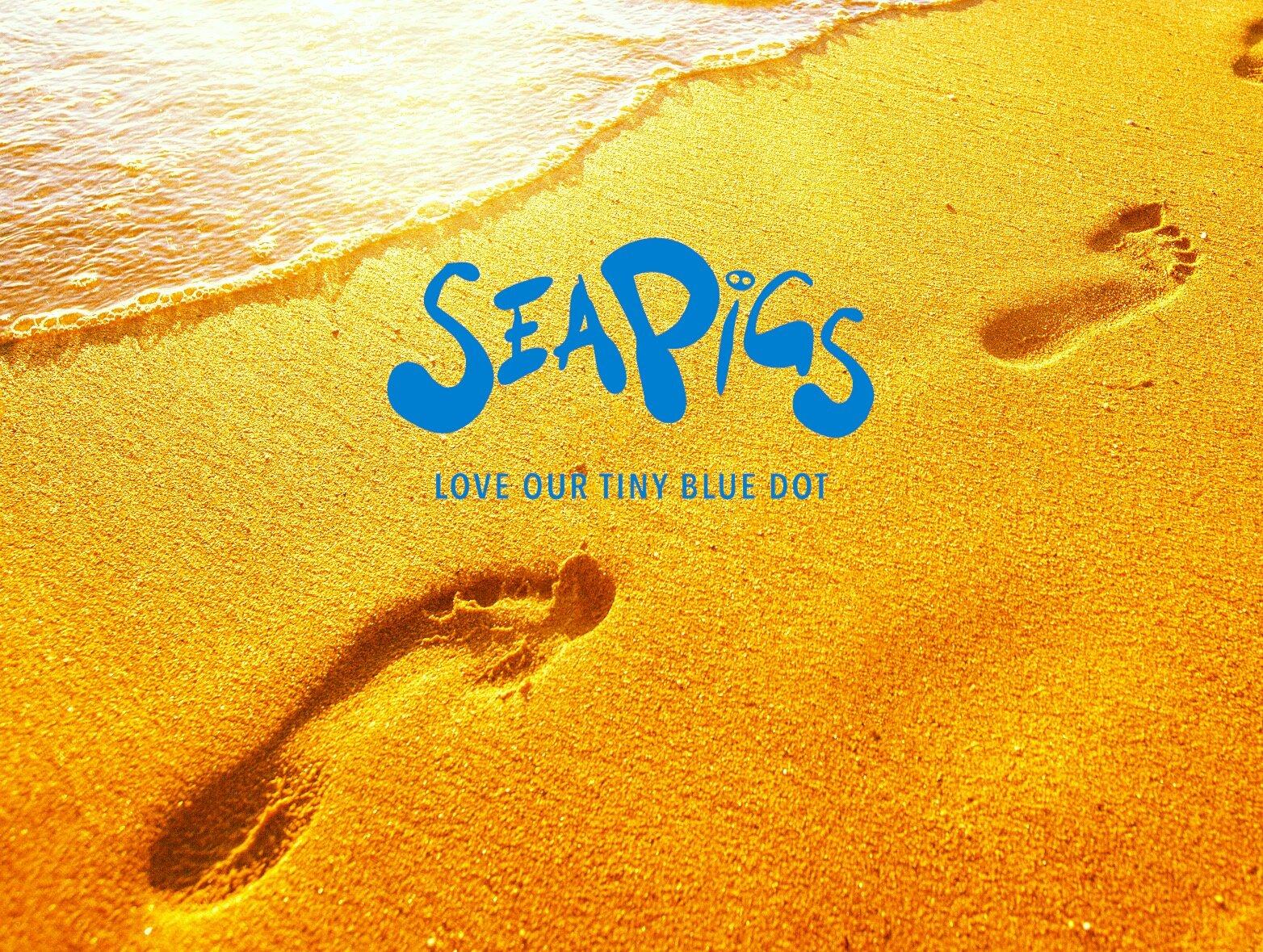 SeaPigs - Leaving Positive Footprints