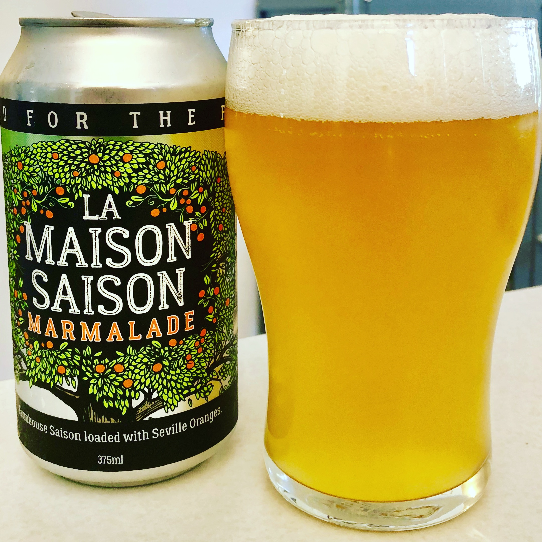 BeerFarm La Maison Saison - Marmalade (6.5% abv): Classic farmhouse character with the lifted tang of Seville Oranges. All class from this Margaret River craft-brewer.