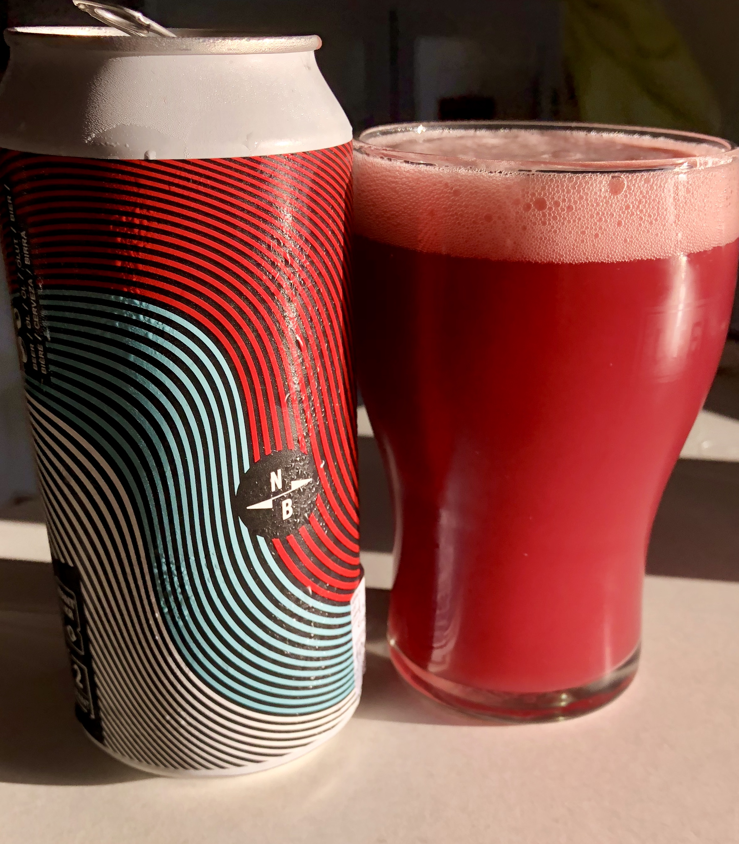 North / Verdant Brewing Triple Fruited Gose (4% abv): English collab brew that packs a shedload of blackberries and raspberries into a refreshing salted sour. That colour!