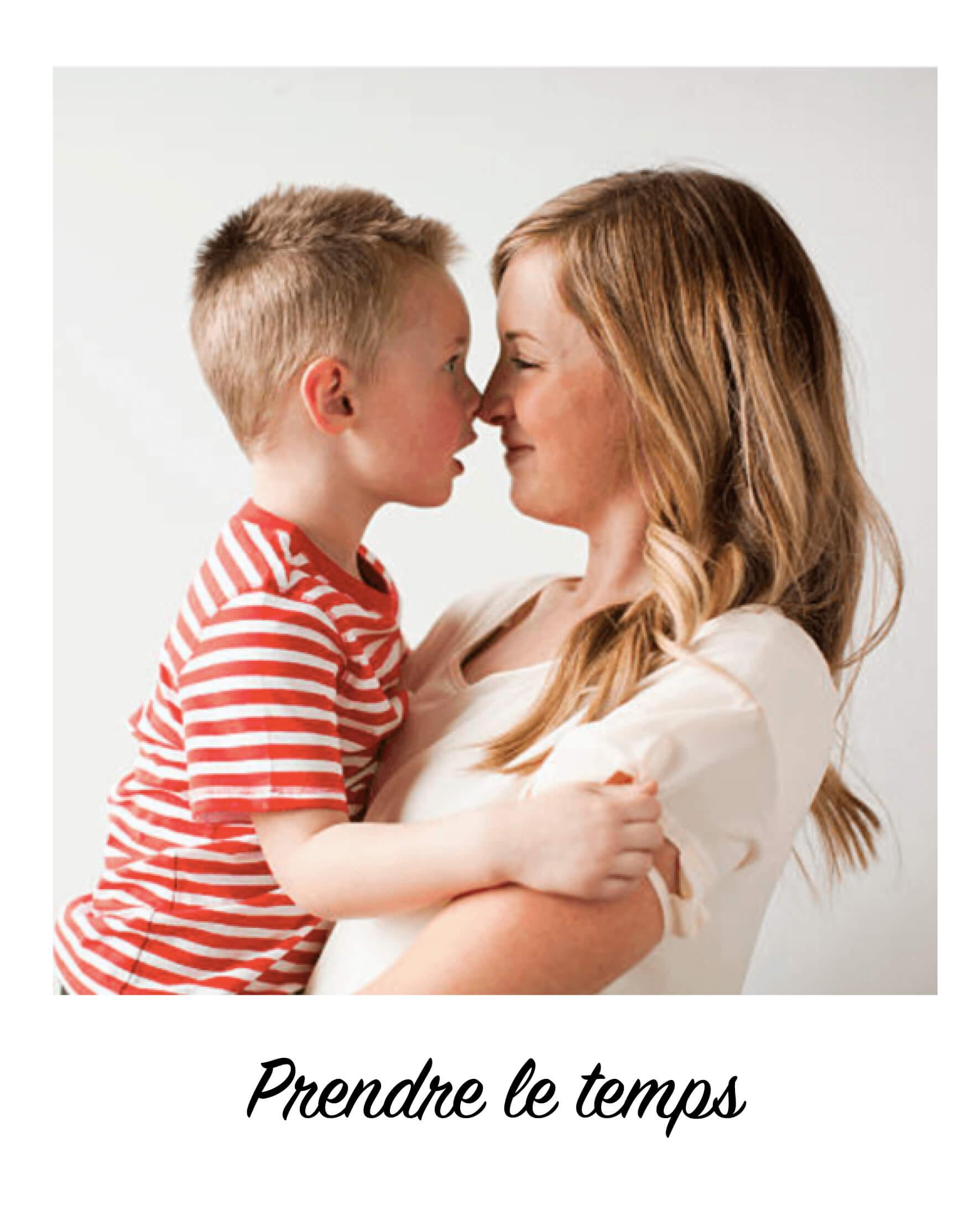 Prendre le temps avec vos enfants