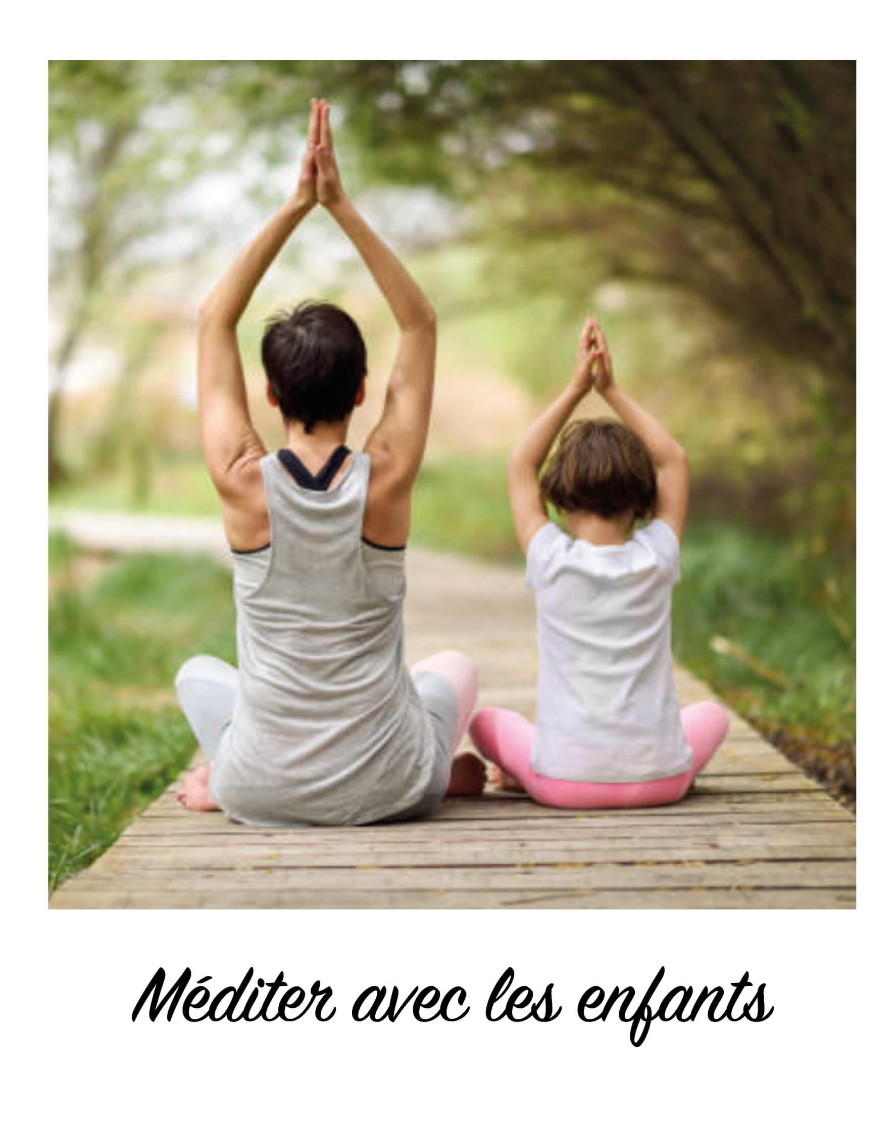 S'initier à la méditation avec les enfants