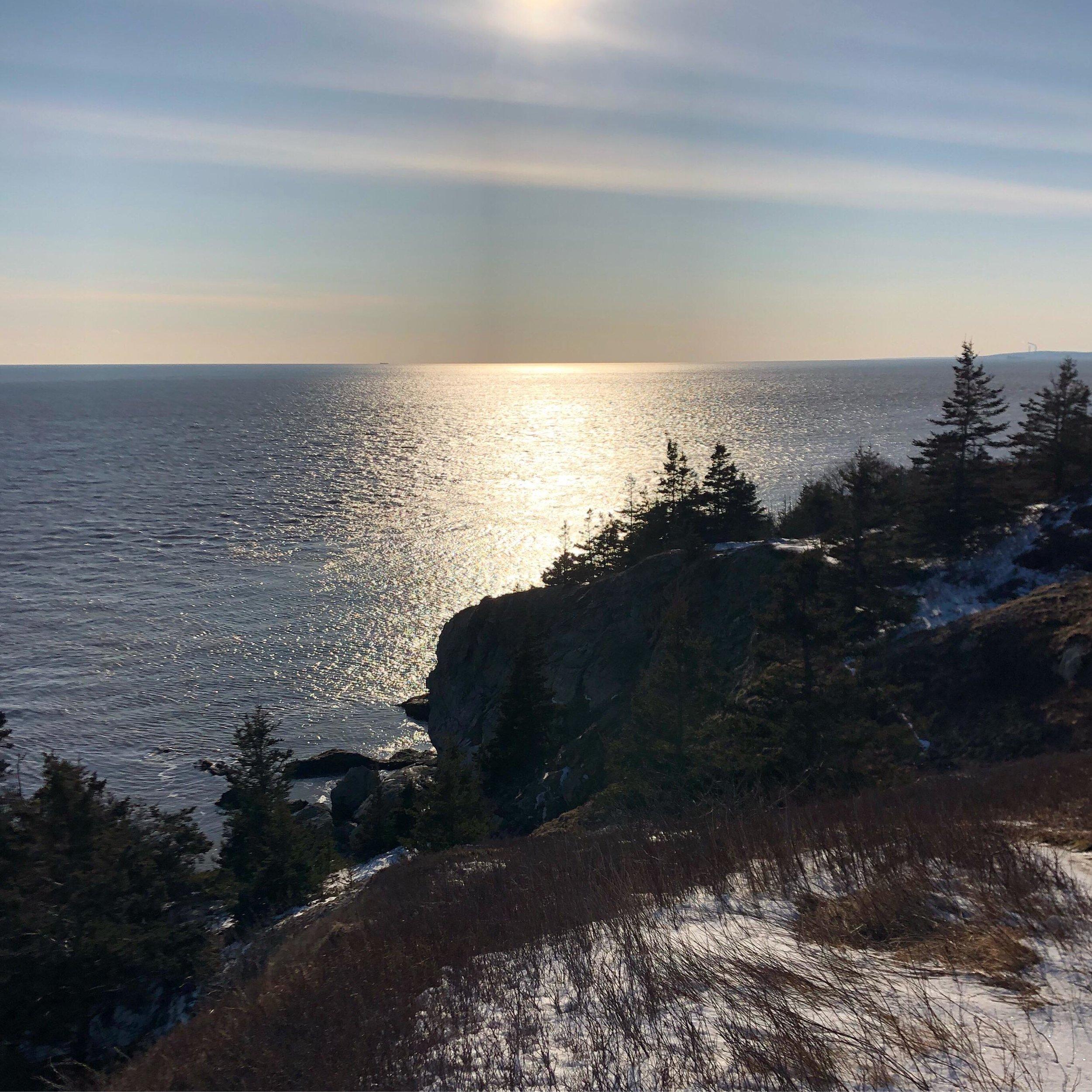 Cape Spencer Cliffs. Distortion. 2019.