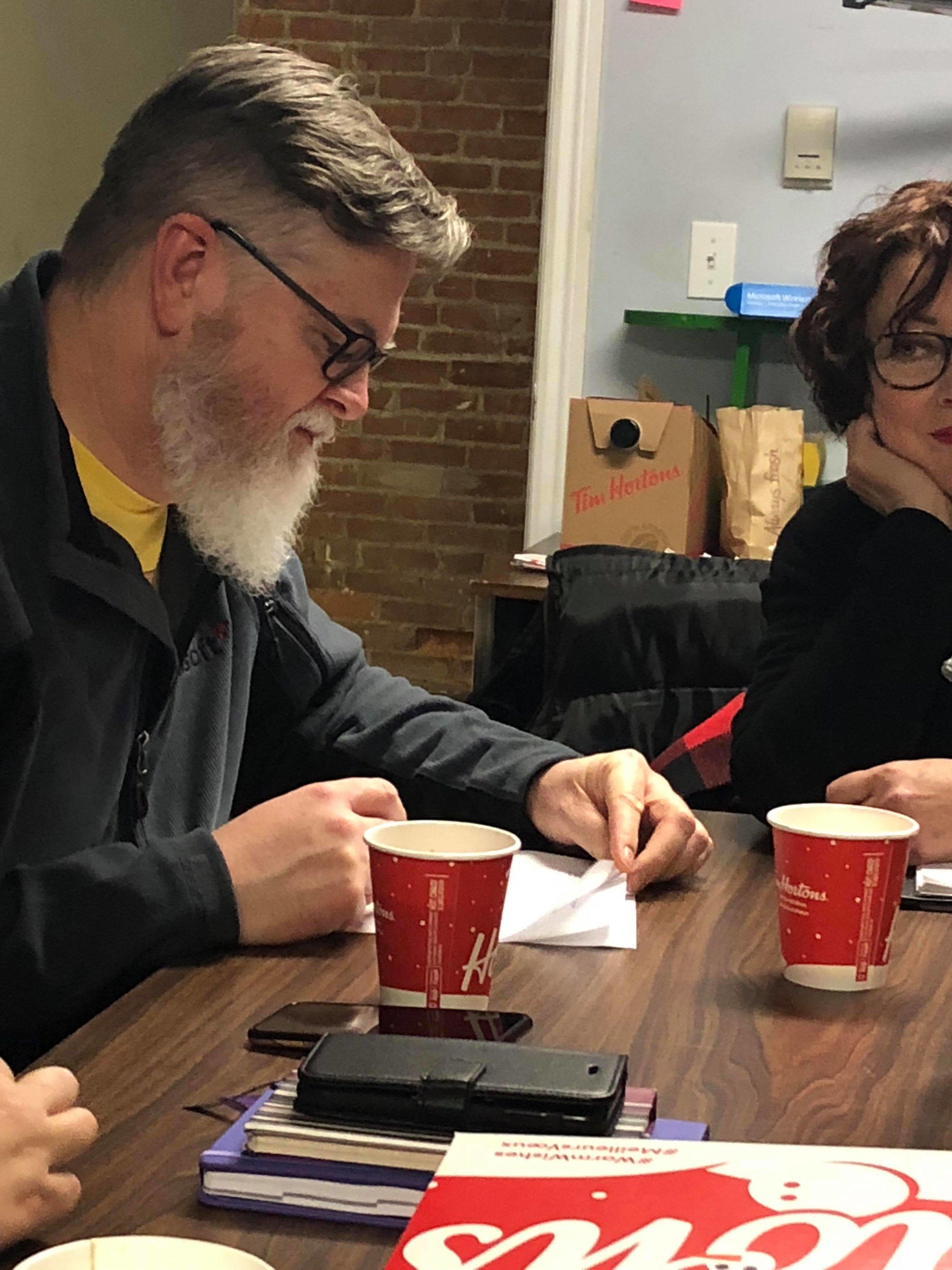 Scripts and Screens. Grey Rabbit Theatre Co. Larry Collicott. 2018