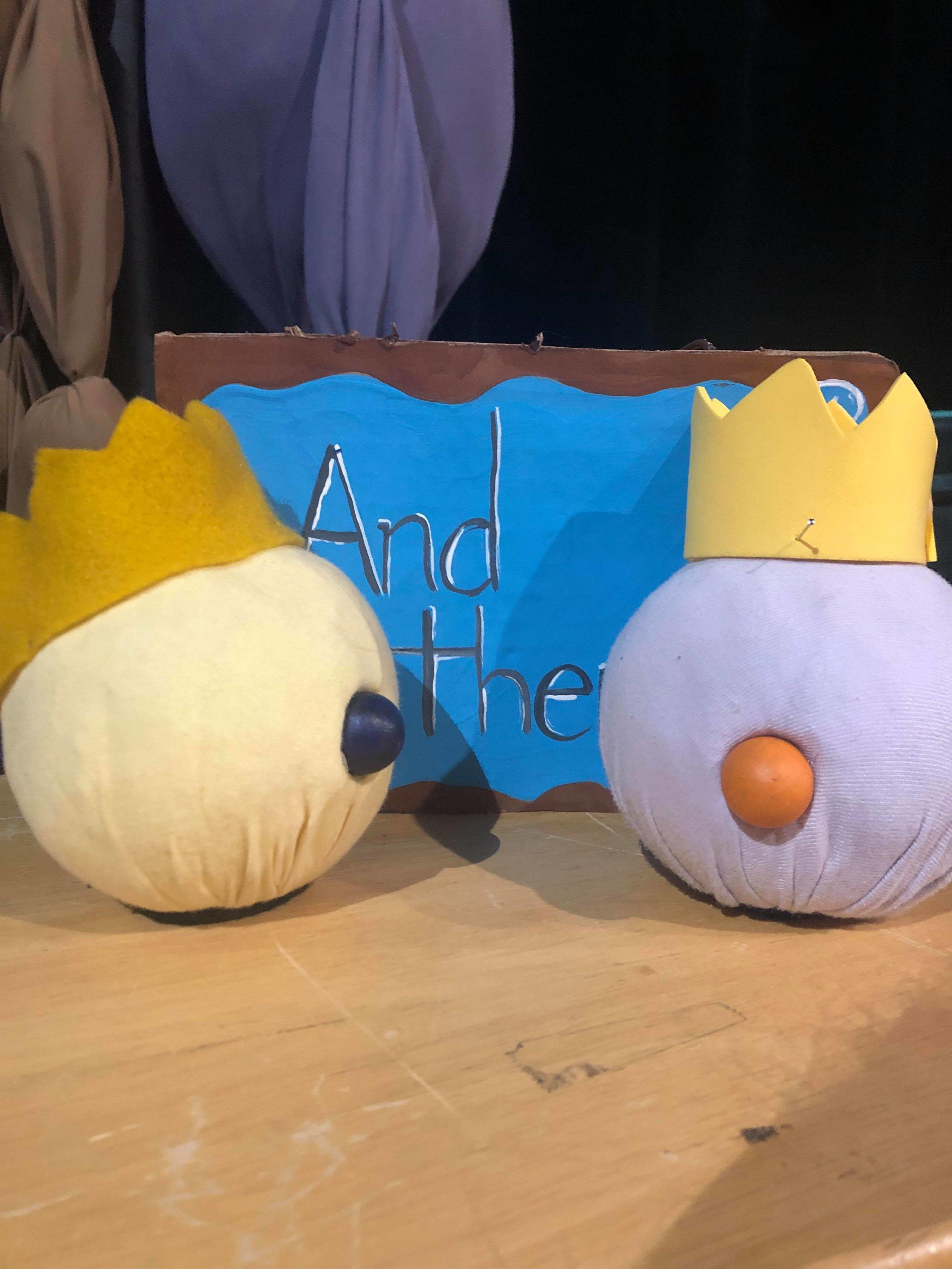 Hand Puppets. Laura-Beth Bird. Animotion 2019. Mermaid Theatre of Nova Scotia.