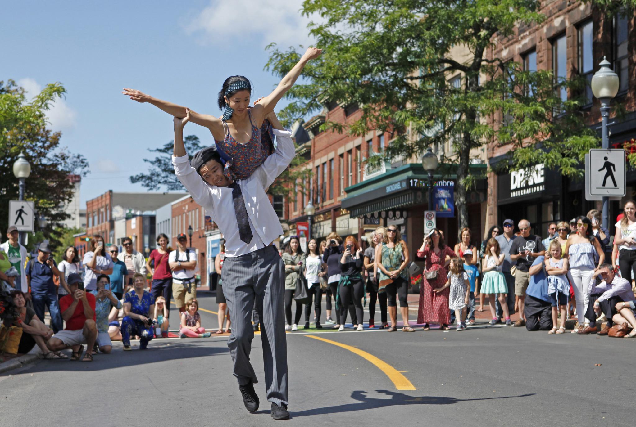 Downtown Dances Moncton. Atlantic Canada Ballet. 2019.