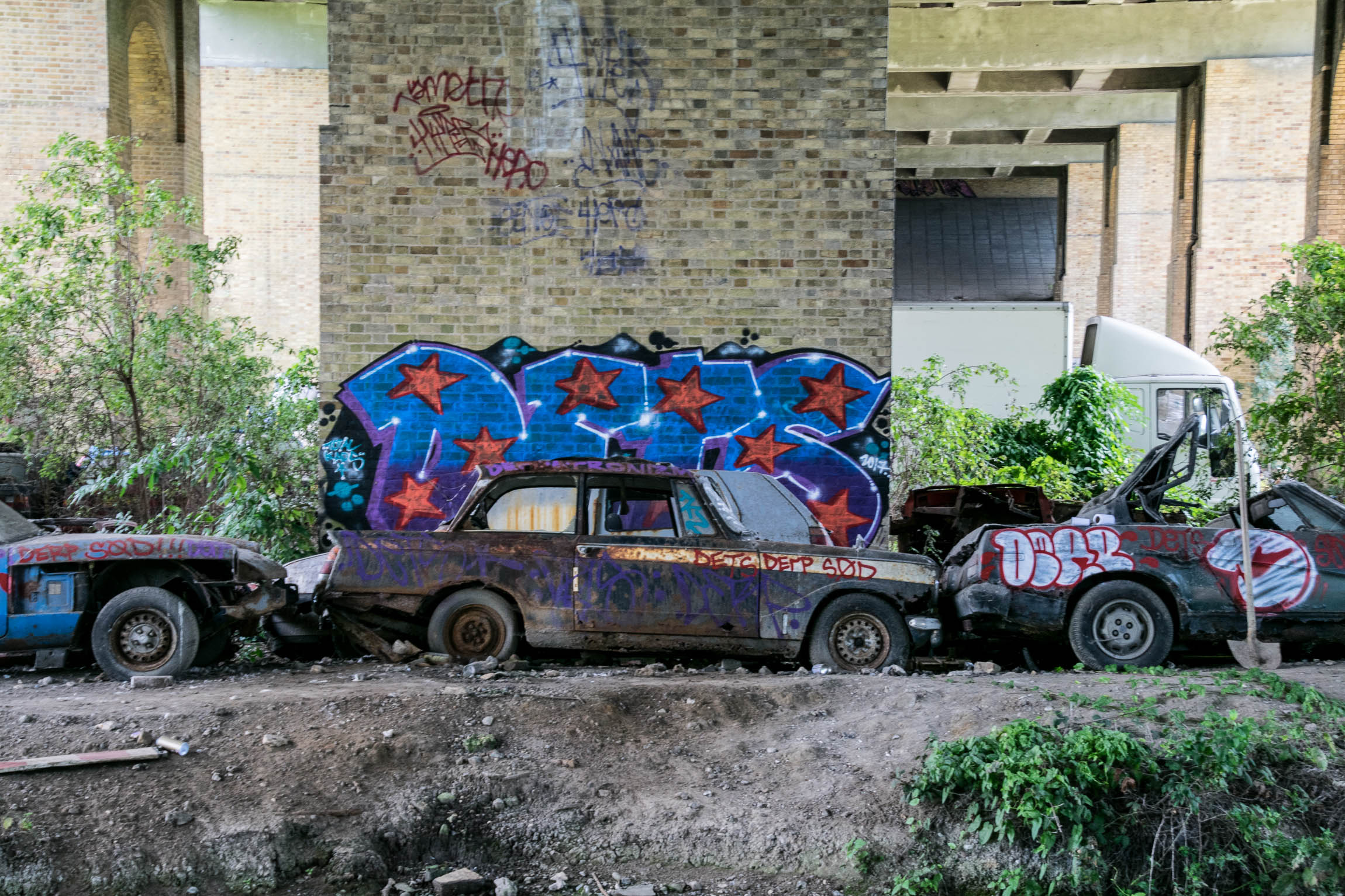 Flytipper's Cars - A trip back to specifically look at the cars