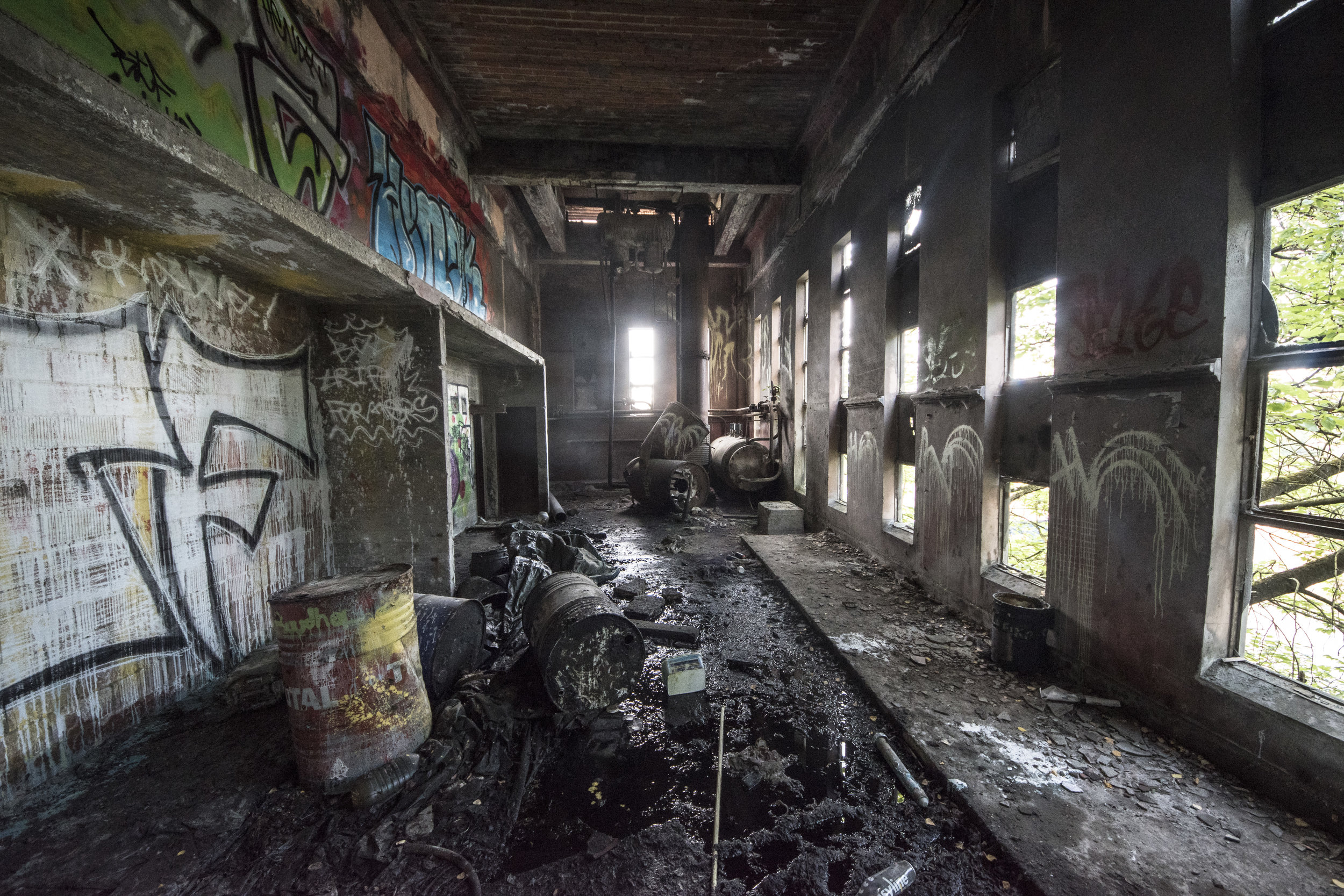 Carolo Beton - Abandoned Concrete Factory - This abandoned concrete plant was built on the location of the site n°2 of the
