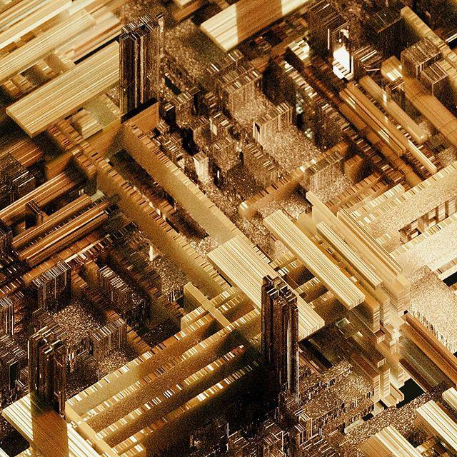 Filament . . . #gold #density #3d #cgi #design #abstract #c4d #otoy #octanerender #maxon3d #thegraphicspr0ject #xuxoe @thegraphicspr0ject @xuxoe