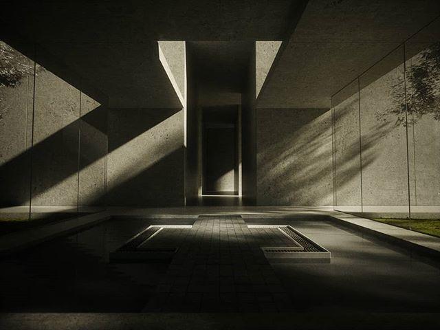 Abstract concrete  #c4d #cinema4d #octane #octanerender #3d #architecture #concrete