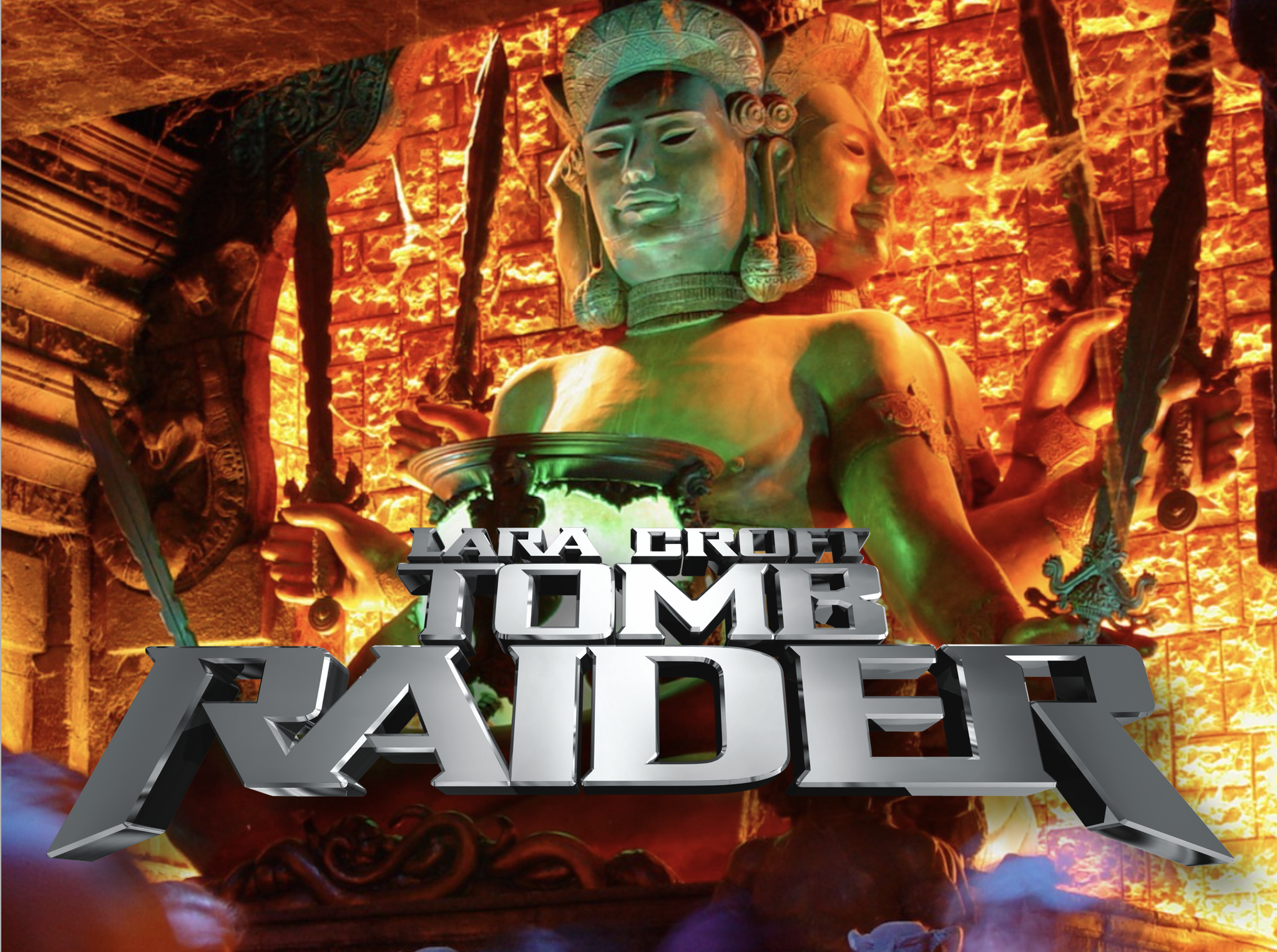 Tomb Raider: The Ride, at Paramount's King's Island