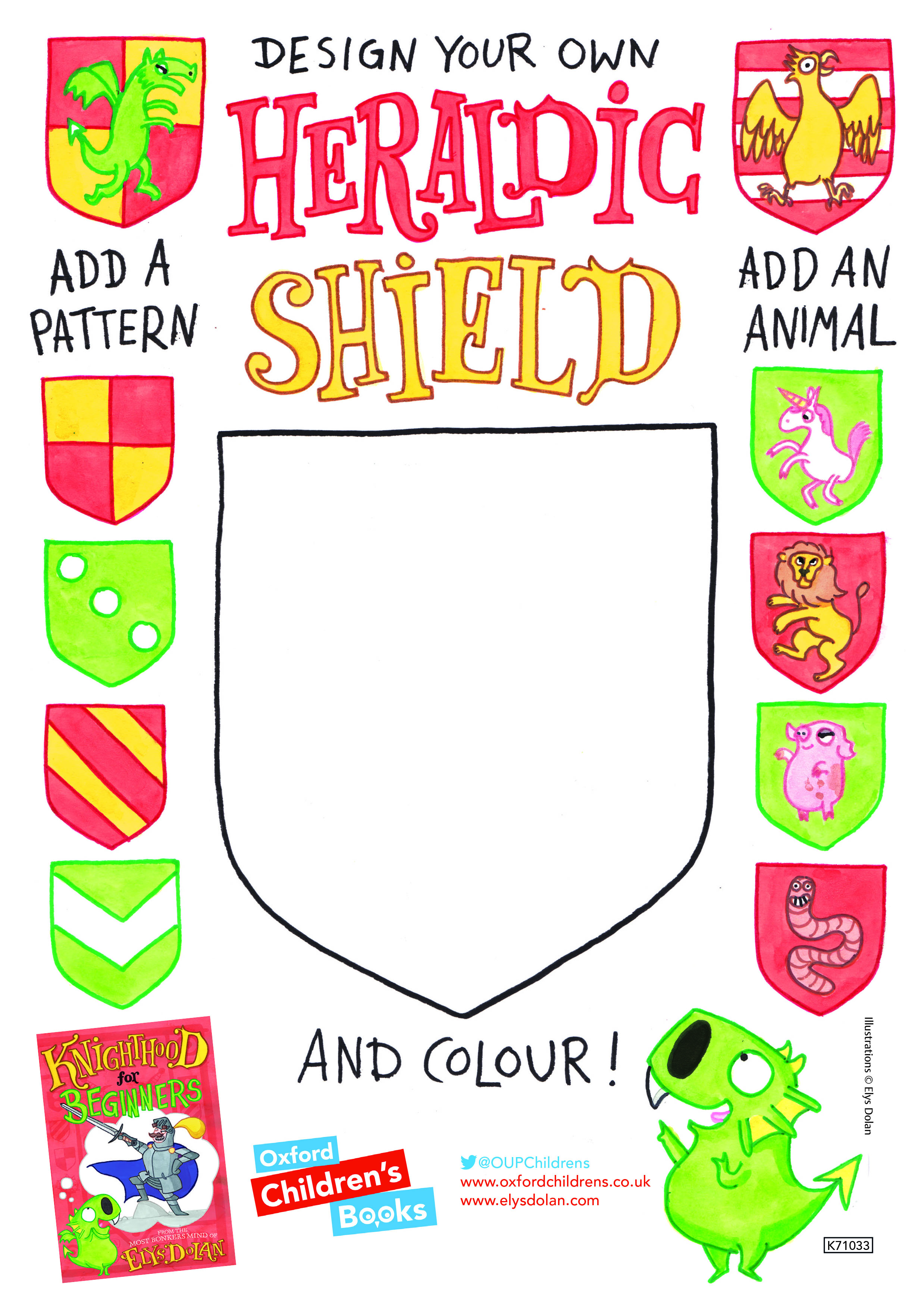 Knighthood for Beginners Design your own heraldic shield.jpg