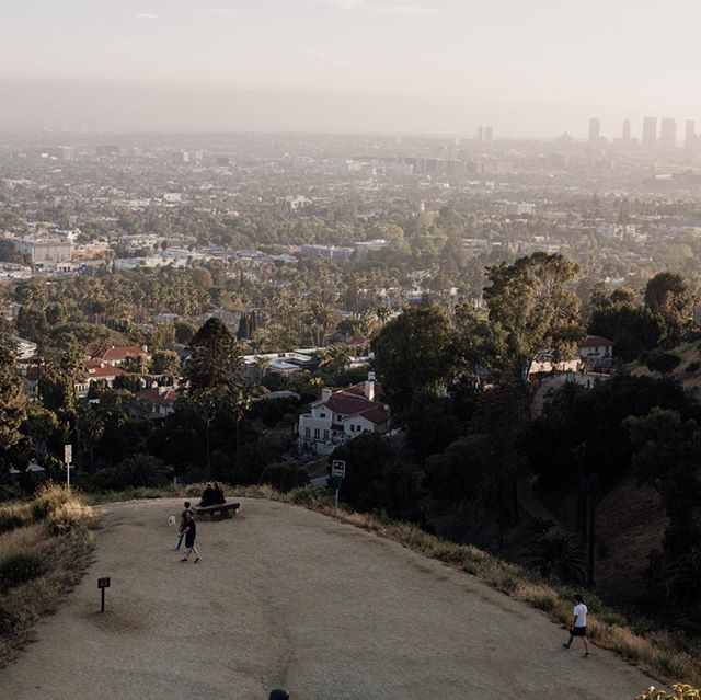 Runyon Canyon, the perfect place to see the whole of Los Angeles and get a sweat on.