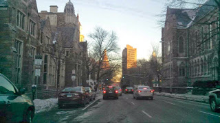 Downtown New Haven: Early Morning