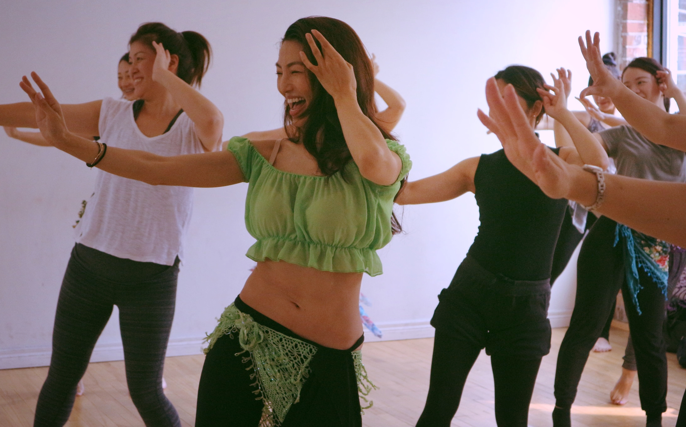 Take a trial lesson - Curious to try out a class? We offer a trial lesson to new students. Join us and see if belly dance is for you!