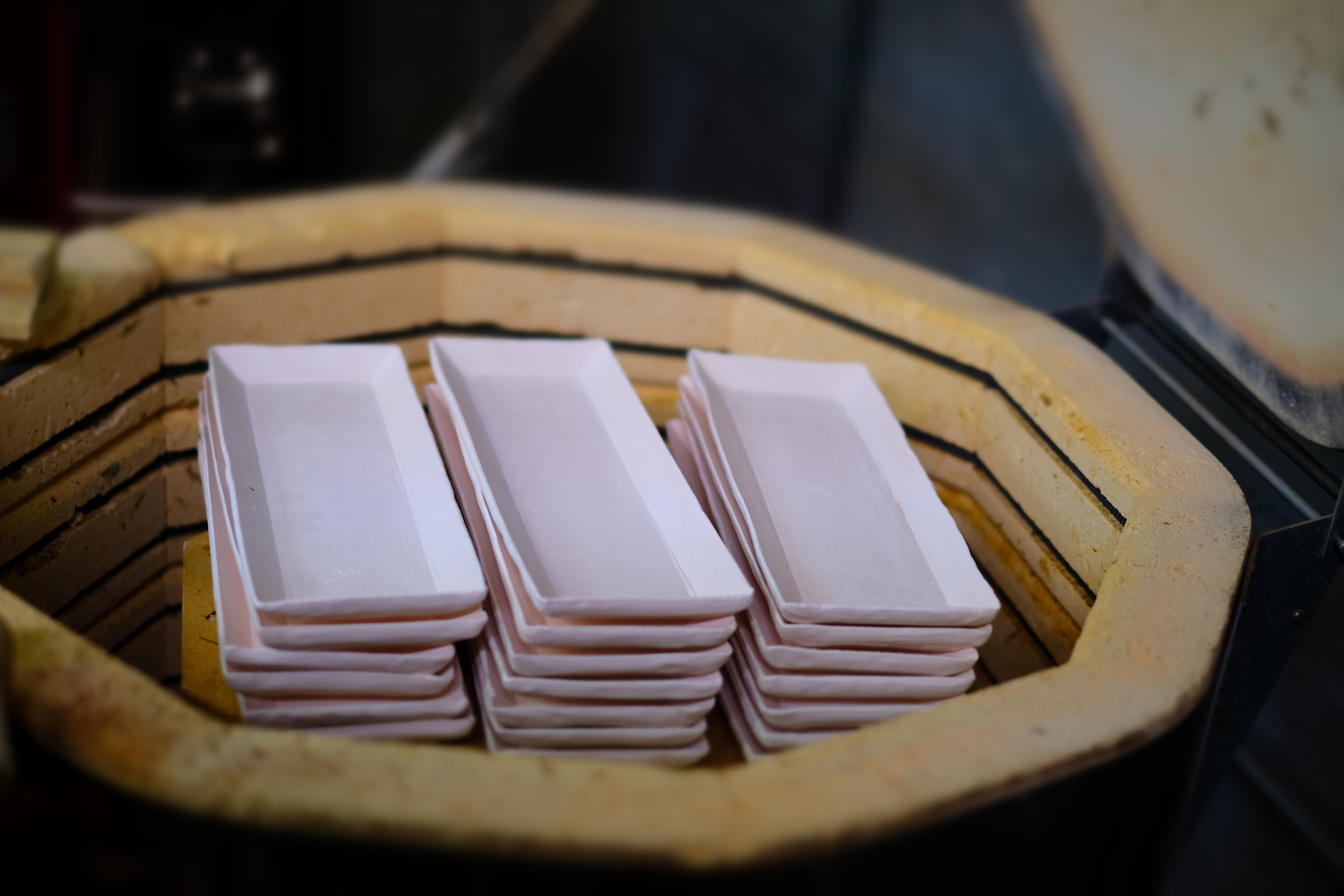 Firing sushi plates for Sushi To Dai For