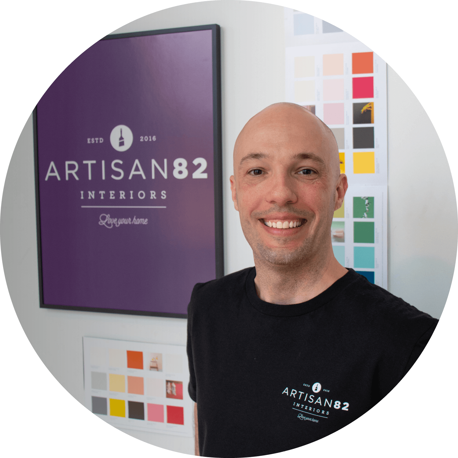 Artisan & Entrepreneur - The son of a business owner and professional painter, Dan always knew he wanted to start his own business. His painting experience and passion for craftsmanship combined with his love of working with people led him to start Artisan82 (formerly Smartpaint) in 2016. Artisan82 is the realization of his boyhood dream, and Dan finds his work and his role as entrepreneur incredibly rewarding. Dan's long-term aspirations include product development, launching educational platforms, and franchising. His vision is to foster a global community of like-minded professional and amateur painters by 2030.