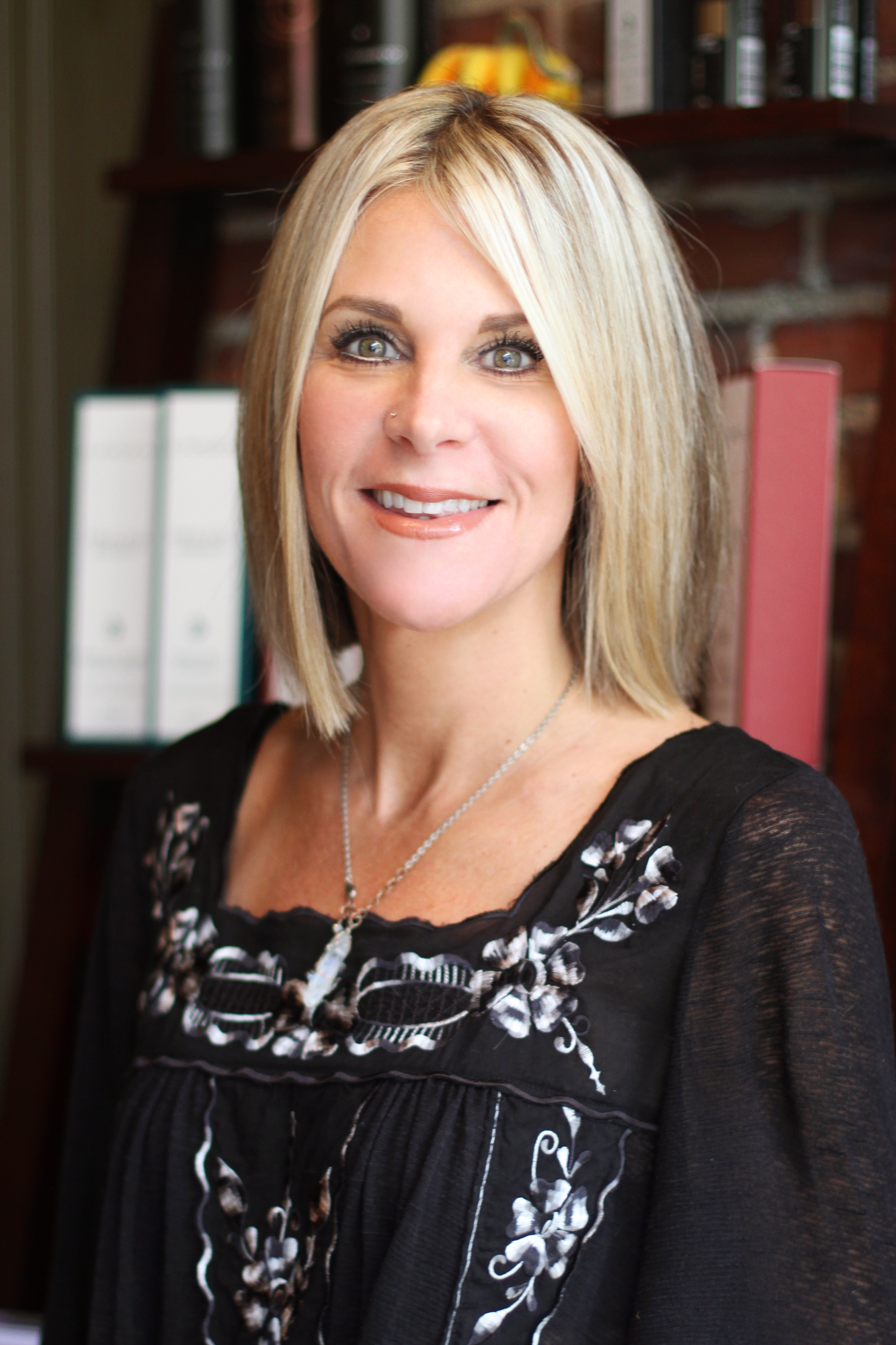 """Sonja Conant - Sonja is a high energy hairstylist with an undeniable passion for her clients. Her signature looks through cut, color and style have seamless transitions, soft edges, incredible longevity and a decidedly effortless aesthetic. She embodies a more traditional approach to hair styling and believes in the complete clientele experience- starting with a thorough consultation where she carefully listens to your """"hair challenges"""" and """"hair goals"""" to properly guide you to realistic results. She believes that everyone is unique, and will create a customized look that will enhance your best features and fit your lifestyle. Sonja has been the owner of Esse in York for over 25 years. She has great pride in the reputation Esse Studio has as a high end salon in this quaint location."""