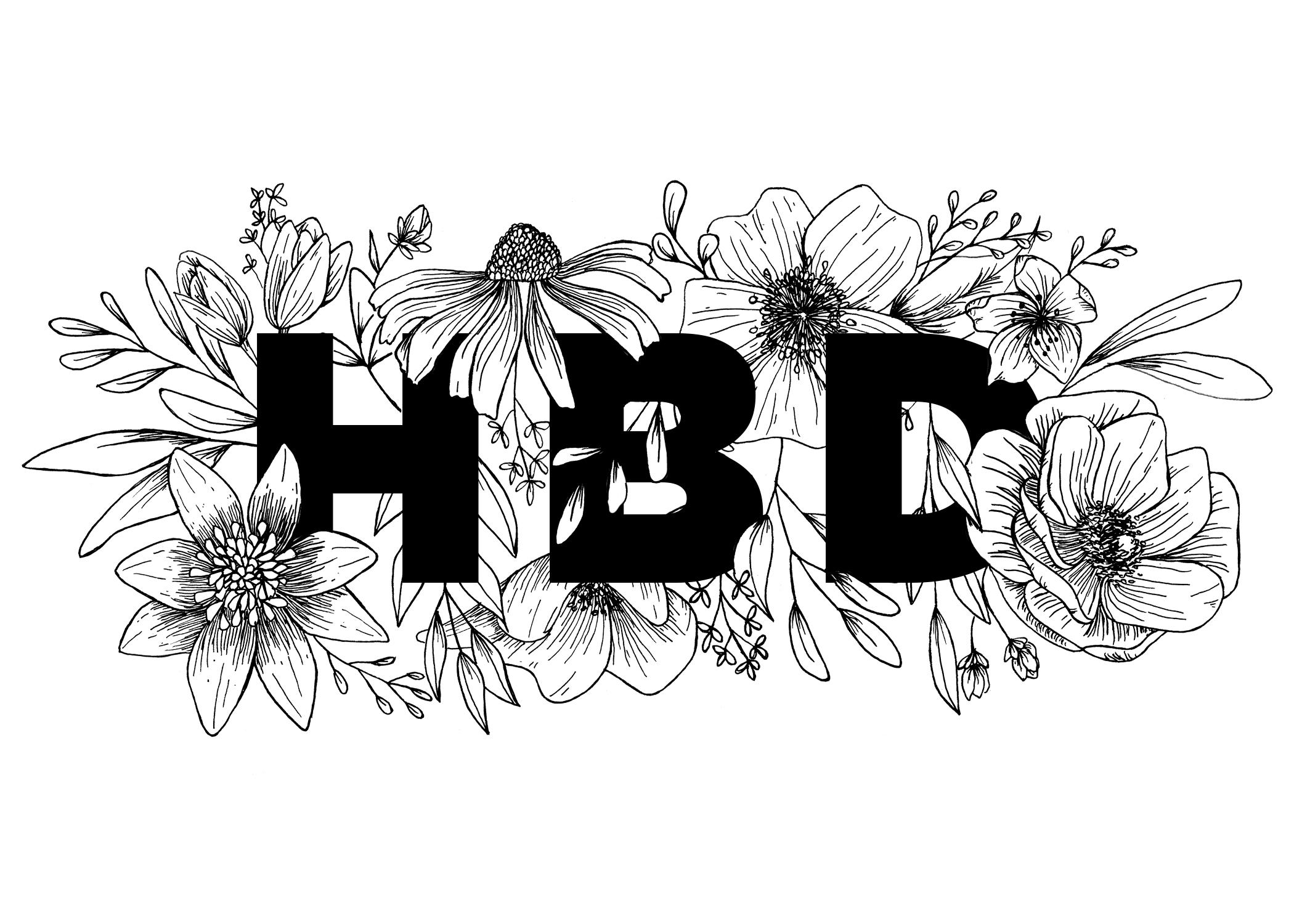 Illustrated Happy Birthday cards