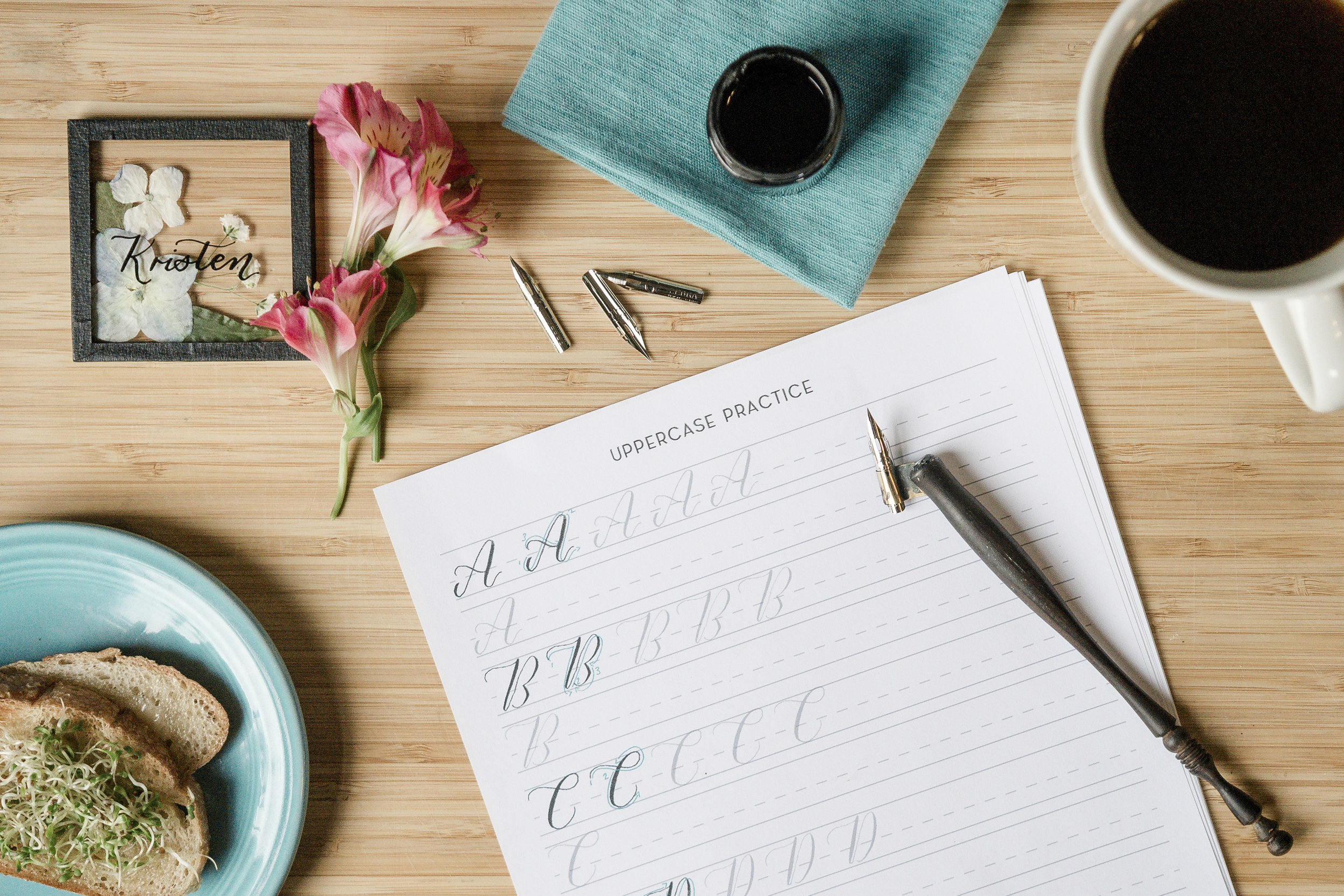 Learn calligraphy in Denver on June 30th, 2019