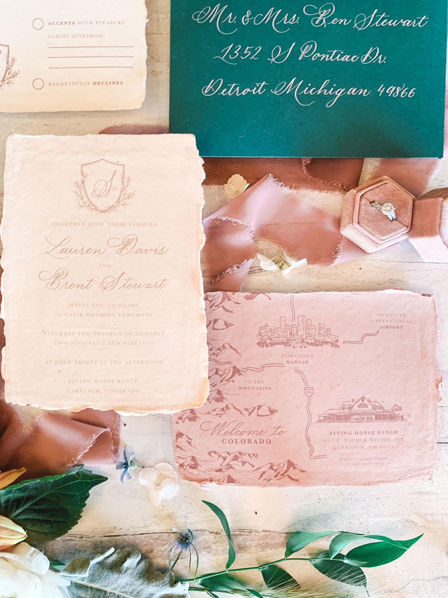 Wedding Stationery - Fully custom Invitations, Save-the-Dates, Envelope Calligraphy and more.