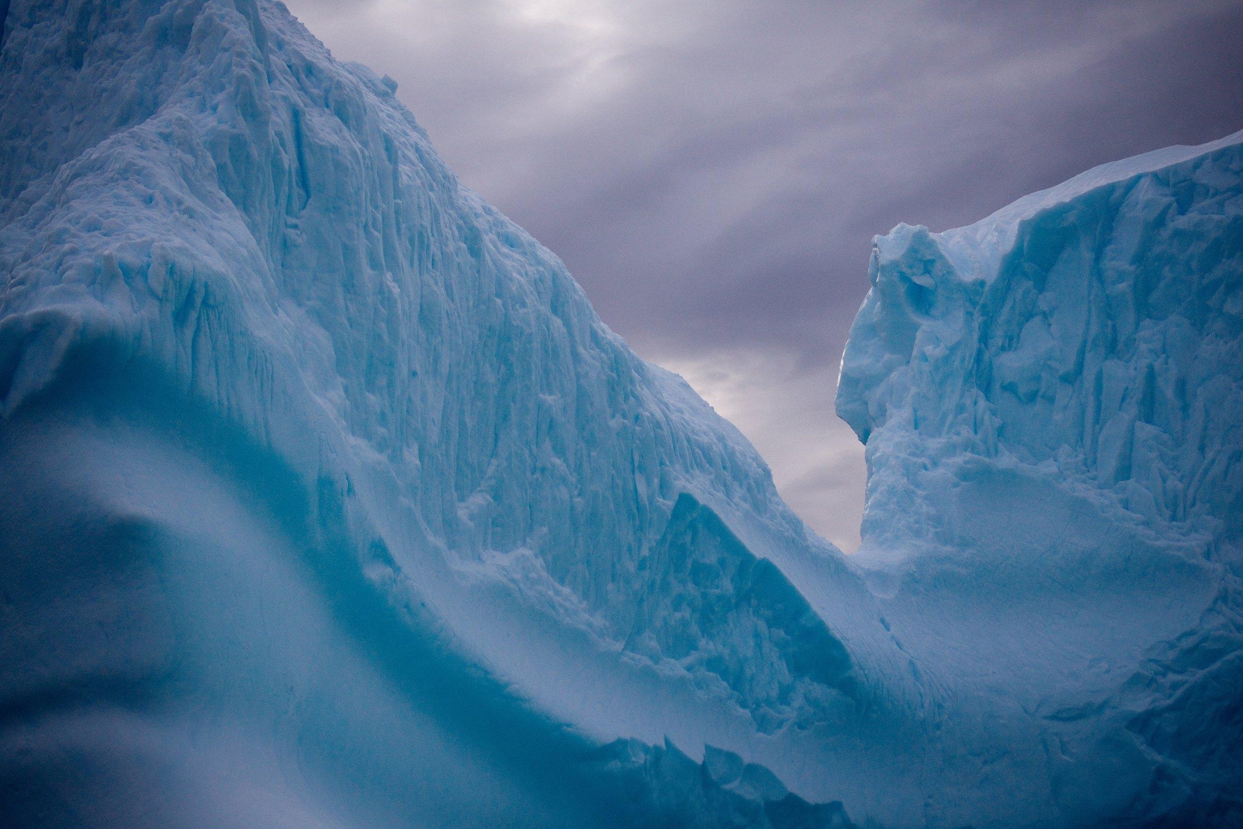 Iceberg Antarctica Arctic blue