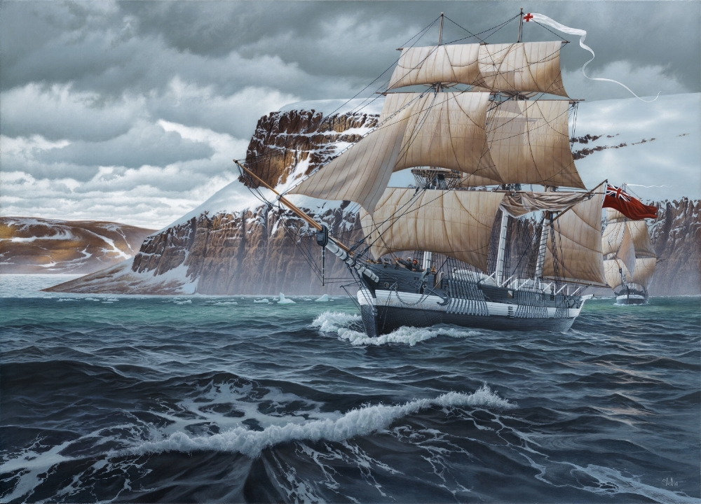 Expedition (HMS Erebus and Terror) 36 x 50