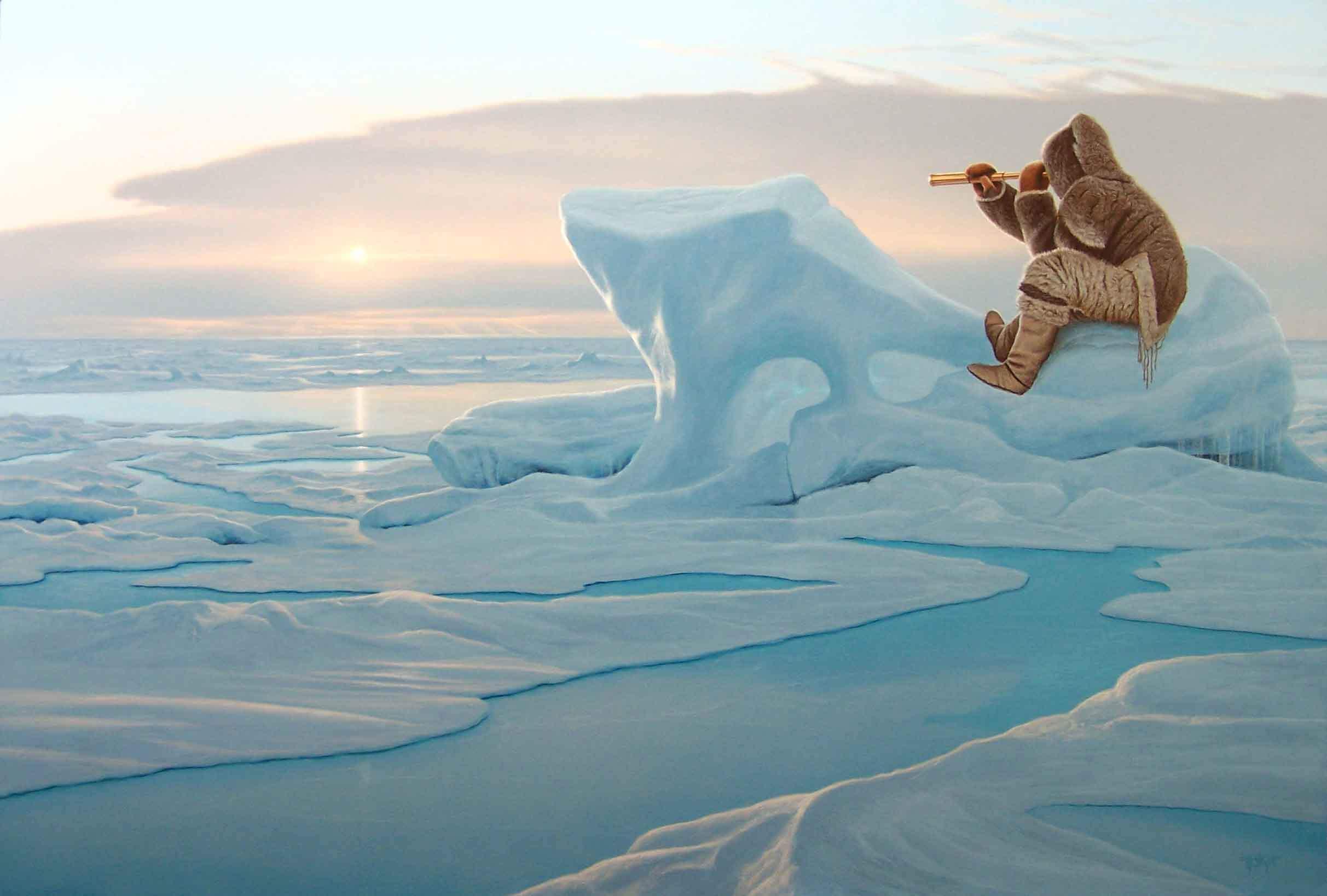 Acrylic in the Arctic